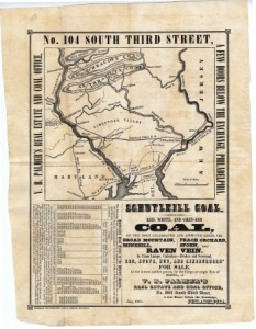 Palmer Coal Flyer July 1841