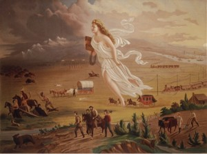 American Progress (1872) by John Gast